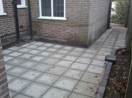 quality patio in Moseley