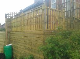Decking and ballastrading in harborne