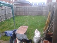 Garden ready for make over in Rowley Regis