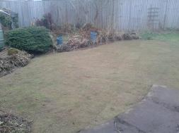 Pond cleared, filled in and returfed in Moseley.