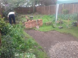 need a garden landscaped in Birmingham.