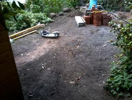 garden makeover in moseley