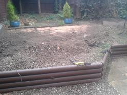 A garden make over in Kings Norton